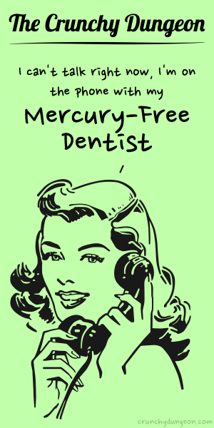 TCD Comic - On the Phone - Mercury-Free Dentist
